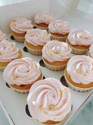 Cupcakes Framboos