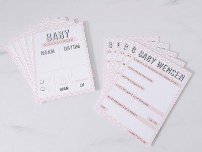 Baby kaartjes girl