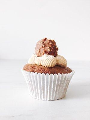 Cupcakes chocolade Hazelnoot