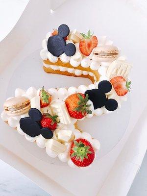 Mickey Mouse Cijfercake