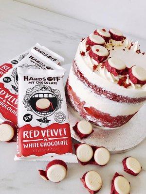 Hands of my chocolate Red Velvet
