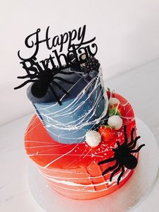 mariasweetcakery Spinnen taart