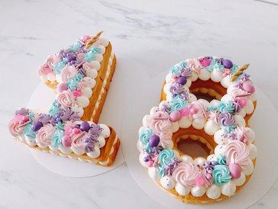 Unicorn Cijfercake