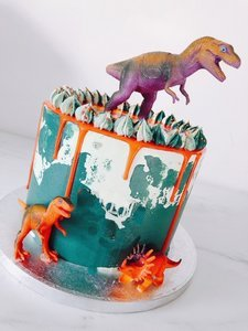mariasweetcakery Dino taart1