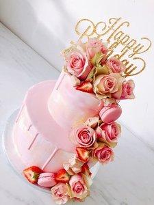 mariasweetcakery Waterval taart