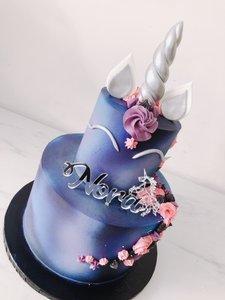 mariasweetcakery Unicorn Galaxy taart