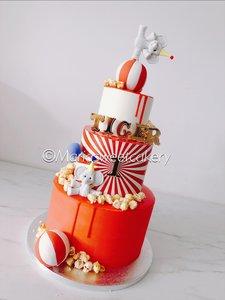 mariasweetcakery Circus taart