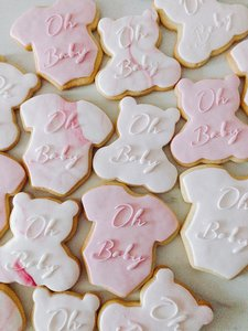 mariasweetcakery Oh baby koekjes