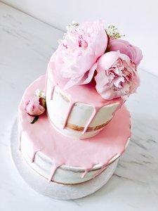 mariasweetcakery Bloemen taart 2