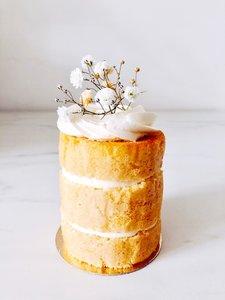 mariasweetcakery Naked gipskruid cake