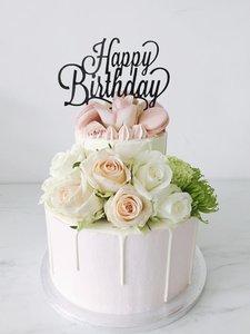 mariasweetcakery Birthday Blush