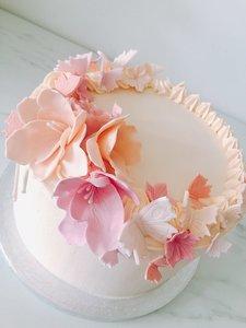 mariasweetcakery Vlinder taart