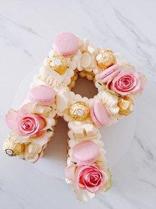 mariasweetcakery Letter cake