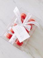 mariasweetcakery macarons rood