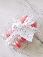 mariasweetcakery macarons roze
